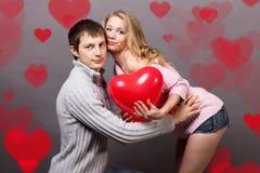 Walentynki para Obraz Royalty Free