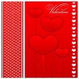 Walentynki pielenia i dnia karty Fotografia Stock