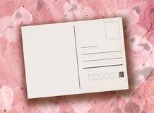 Walentynki pocztówka royalty ilustracja