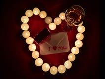 Walentynki prezent Fotografia Stock
