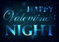Walentynki przyjęcia projekta karty sztandar Wektorowa szczęśliwa valentine miłości plakata ilustracja ilustracji