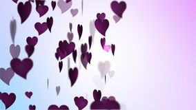 Walentynki Różowy serce zbiory wideo