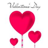 Walentynki ` s dnia abstrakta tło również zwrócić corel ilustracji wektora ilustracji