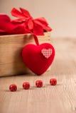 Walentynki ` s dnia dekoracja zdjęcie royalty free