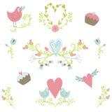 Walentynki ` s dnia kolekcja 2 ilustracja wektor