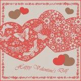 Walentynki ` s dnia miłość - kwiaty inkasowi royalty ilustracja