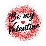 Walentynki ` s dnia miłości Kreatywnie projekt Fotografia Stock