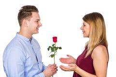 Walentynki ` s dnia niespodzianka fotografia royalty free