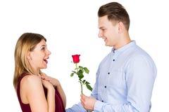 Walentynki ` s dnia niespodzianka obraz royalty free
