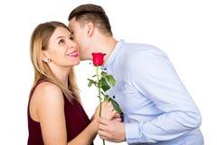 Walentynki ` s dnia niespodzianka obraz stock