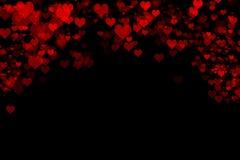 Walentynki ` s dnia serc tło Zdjęcie Royalty Free