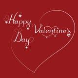Walentynki ` s dnia tło Obrazy Royalty Free