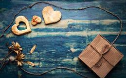 Walentynki ` s dnia tło dla gratulacje valentine widoku Zdjęcia Stock