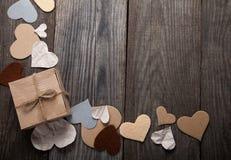 Walentynki ` s dnia tło dla gratulacje valentine widoku Obrazy Stock