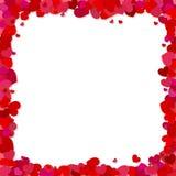 Walentynki ` s dnia wektoru tło Obrazy Stock