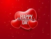 Walentynki ` s dnia wektoru tło EPS10 Fotografia Stock