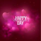 Walentynki ` s dnia wektoru tło EPS10 Fotografia Royalty Free