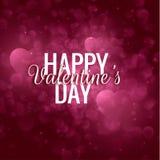 Walentynki ` s dnia wektoru tło EPS10 Zdjęcia Stock