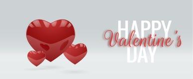 Walentynki ` s dnia wektoru tło EPS10 Obrazy Royalty Free