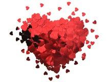 Walentynki serce Obrazy Stock