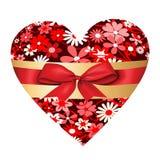 Walentynki serce Zdjęcia Stock