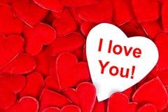 Walentynki serce Zdjęcie Royalty Free