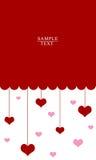 Walentynki serce Obrazy Royalty Free