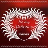 Walentynki siatka Logo-01 Zdjęcia Royalty Free