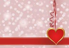 Walentynki tło Fotografia Royalty Free