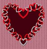 Walentynki tło Fotografia Stock