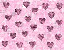 Walentynki tło - grunge Zdjęcia Stock