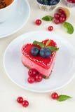 Walentynki tort Fotografia Royalty Free