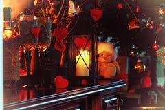 Walentynki wina butelki czarodziejka Zdjęcie Royalty Free