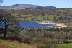 Wales - Bala Lake - Gwynedd. Picturesque Bala Lake in the Gwynedd region of Wales Royalty Free Stock Photography