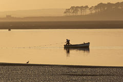Wales - Caernarfon - Fishing Royalty Free Stock Images