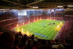 Wales contra samoa Imagem de Stock