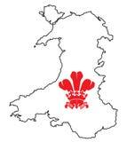 Wales Fleur De Lis Royalty Free Stock Image