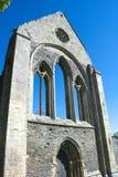 Wales kloster av Valle Crucis i Denbighshire arkivfoton