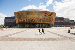 Wales Millennium Centre Royalty Free Stock Photo