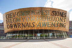Wales Millennium Centre Royalty Free Stock Photos
