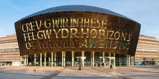 Wales Millennium Centre Stock Images