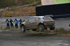 Wales Rally GB 2015 Stock Photography