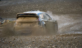 Wales Rally GB 2015 SS Sweet Lamb. Ford Fiesta RS WRC Stock Photo