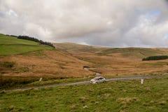Wales Rally GB 2015 SS Sweet Lamb. Peugeot 208 R2 Stock Photos