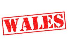 WALES. Rubber Stamp over a white background Royalty Free Stock Photography