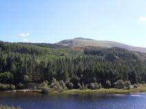 Wales sjö UK Fotografering för Bildbyråer