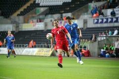 Wales U21 v Italië U21 stock foto