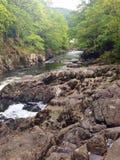 Wales-Wasserfall lizenzfreie stockfotografie