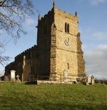 walesby所有教会漫步者s的圣徒 免版税库存照片