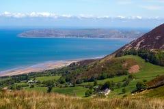 Walesisk kust royaltyfri fotografi